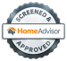 Screened and approved homeadvisor